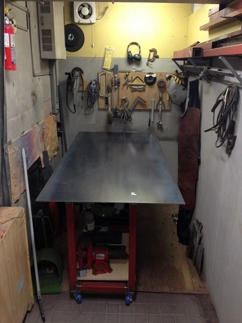 Smallish Welding Table For A Small Shop