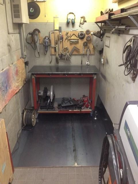 Hobart Tig Welder >> Smallish Welding Table for a Small Shop